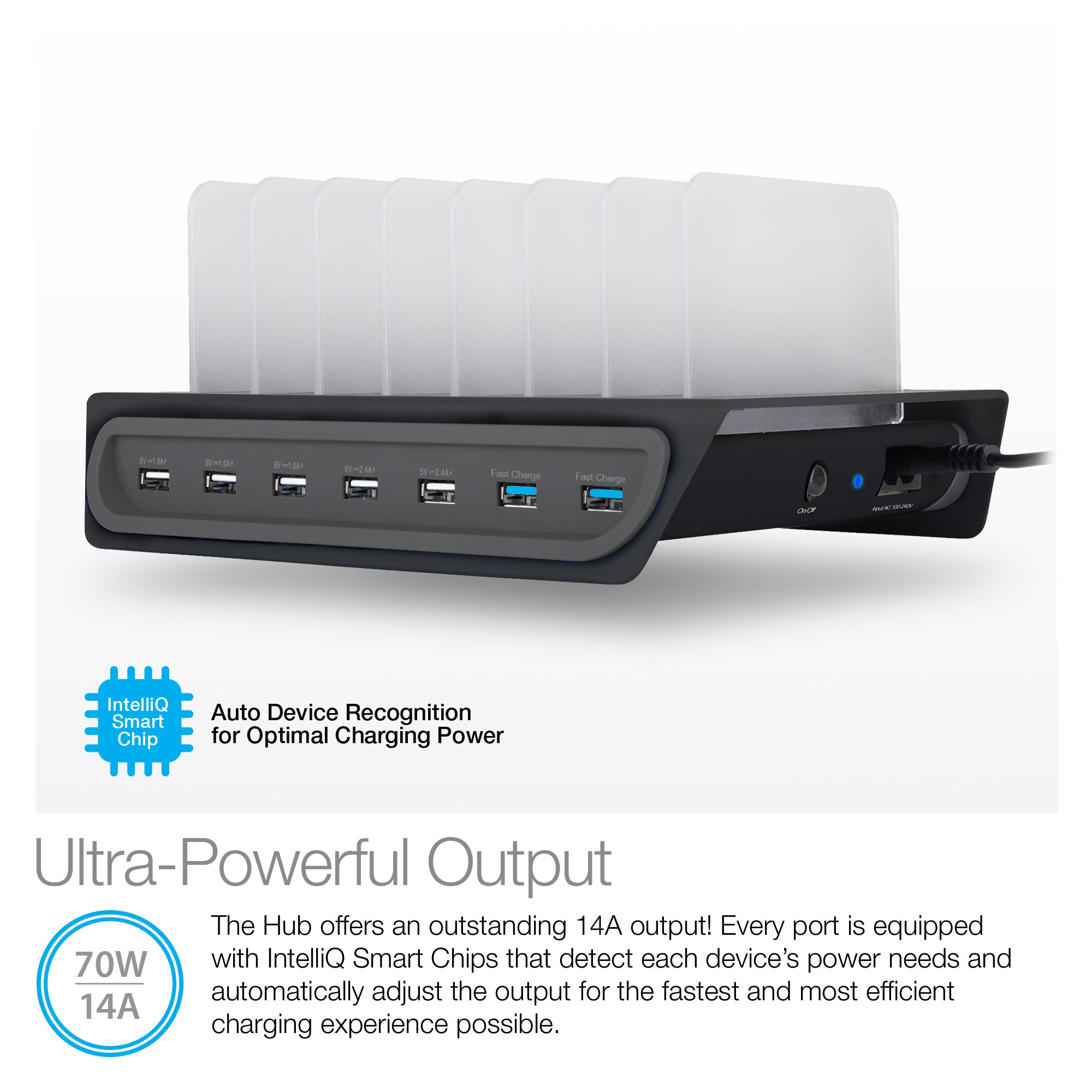 Adaptive Fast Charge Power Hub 7