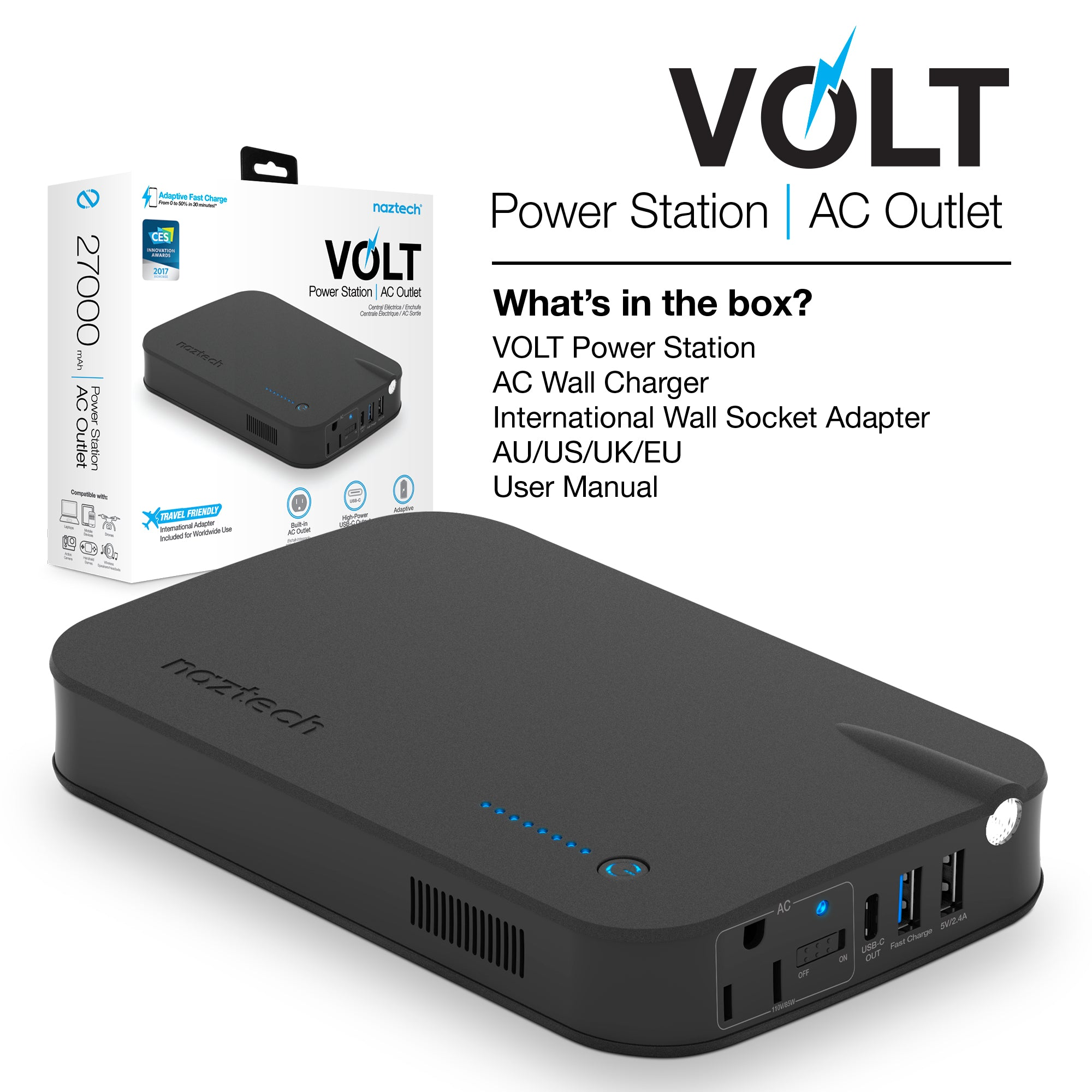 Volt Power Station | AC Outlet