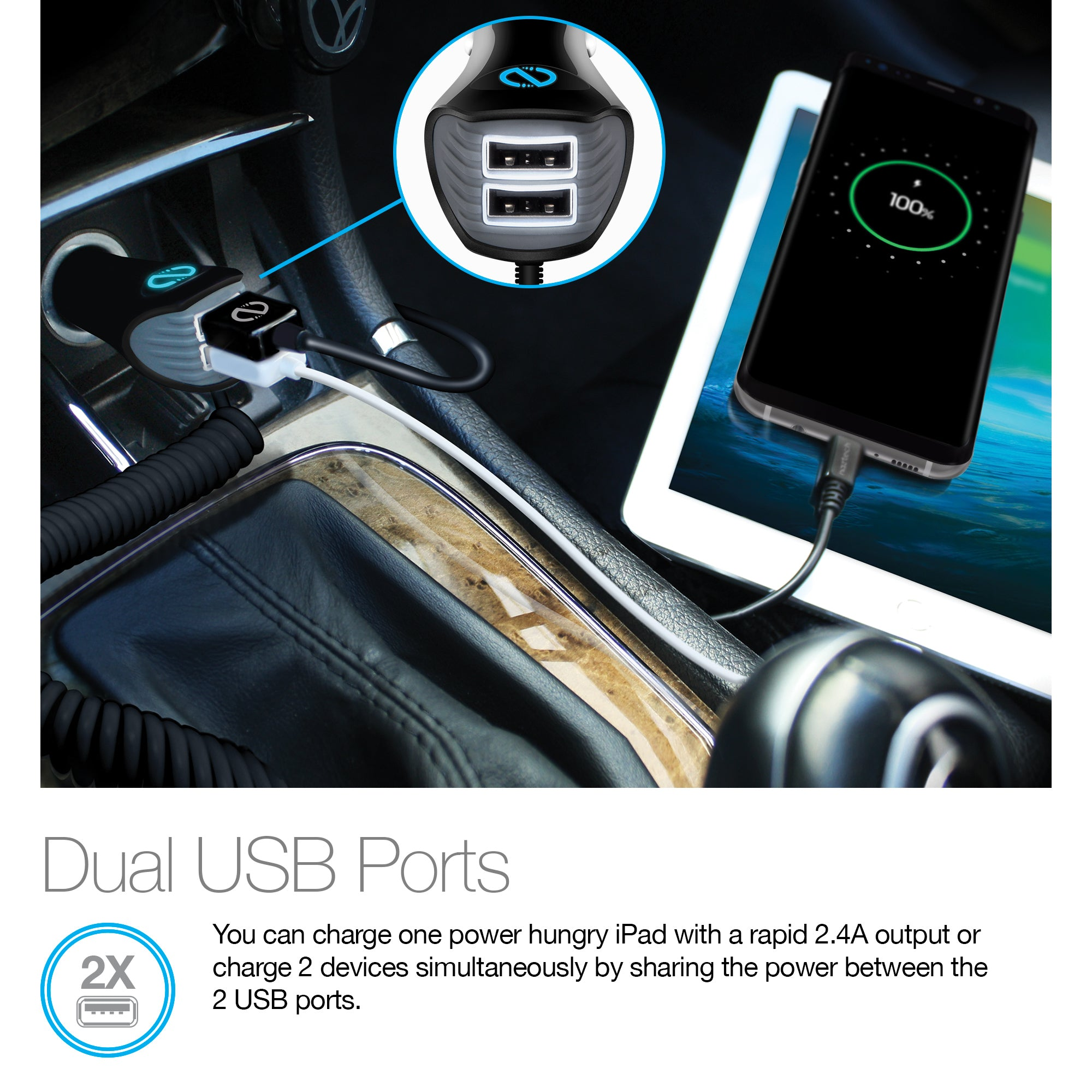 N420 TRiO USB-C Power Delivery Car Charger