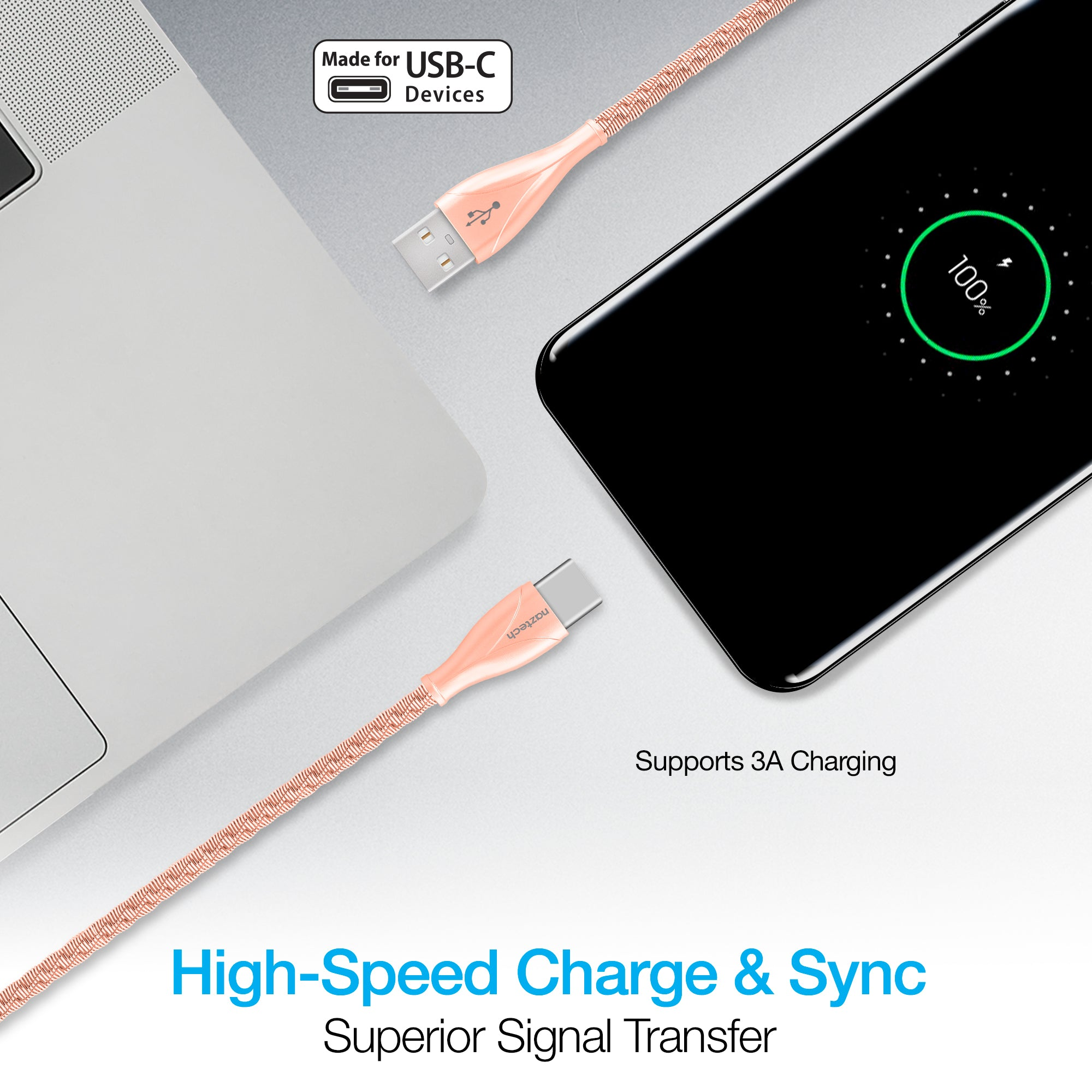 Elite Series USB-C Charge & Sync Cable