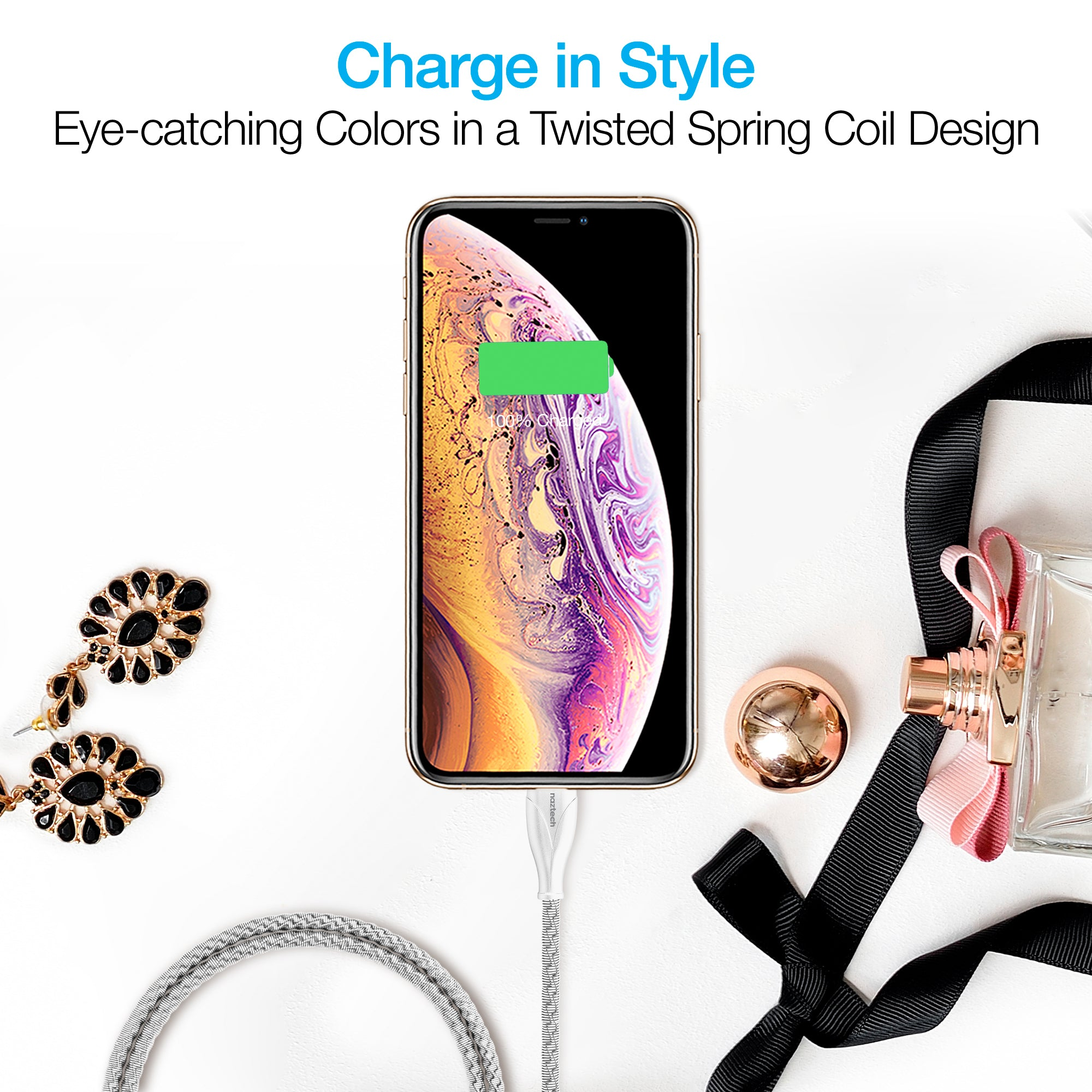 Elite Series MFi Lightning Charge & Sync Cable