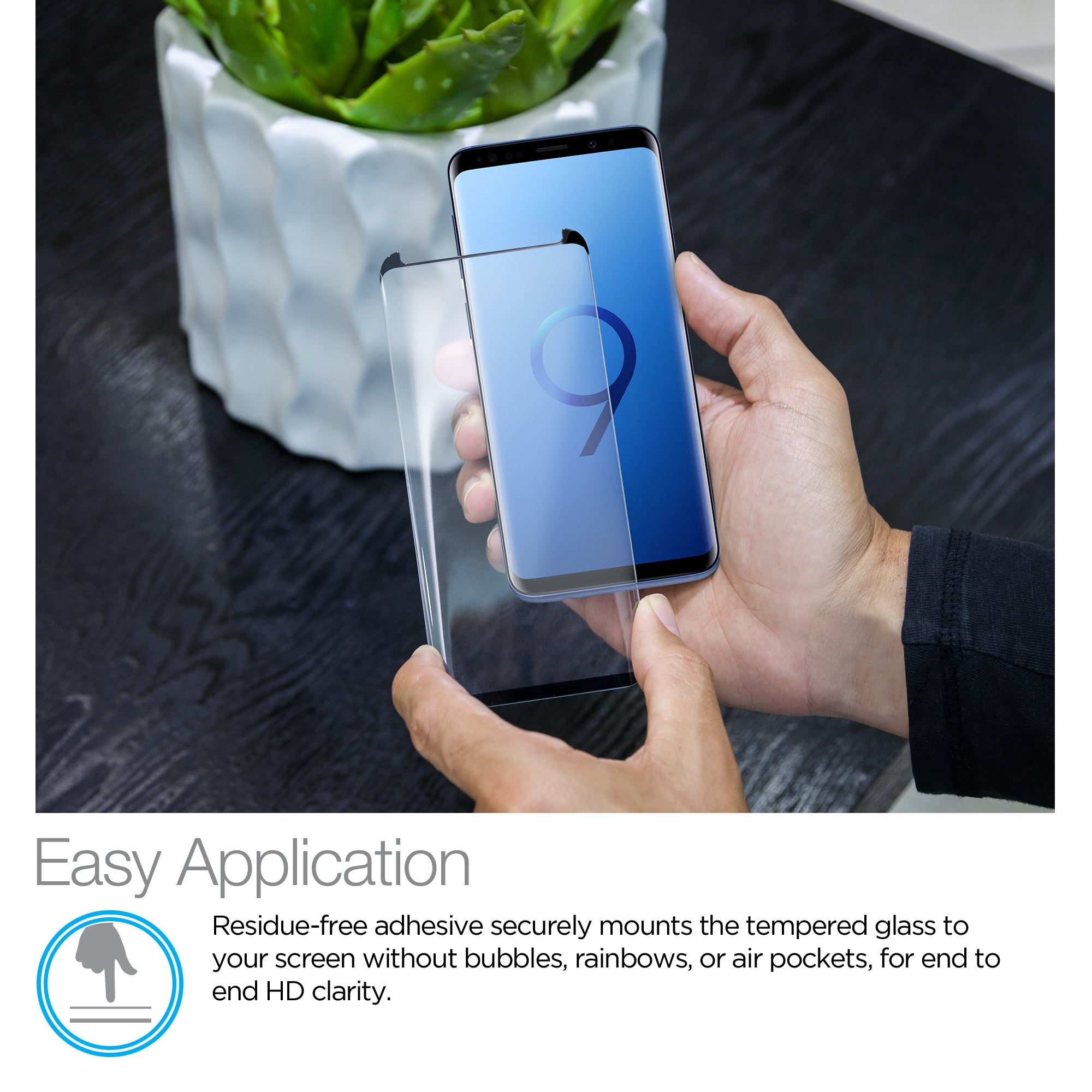 Premium HD Tempered Glass Screen Protector for Galaxy S9