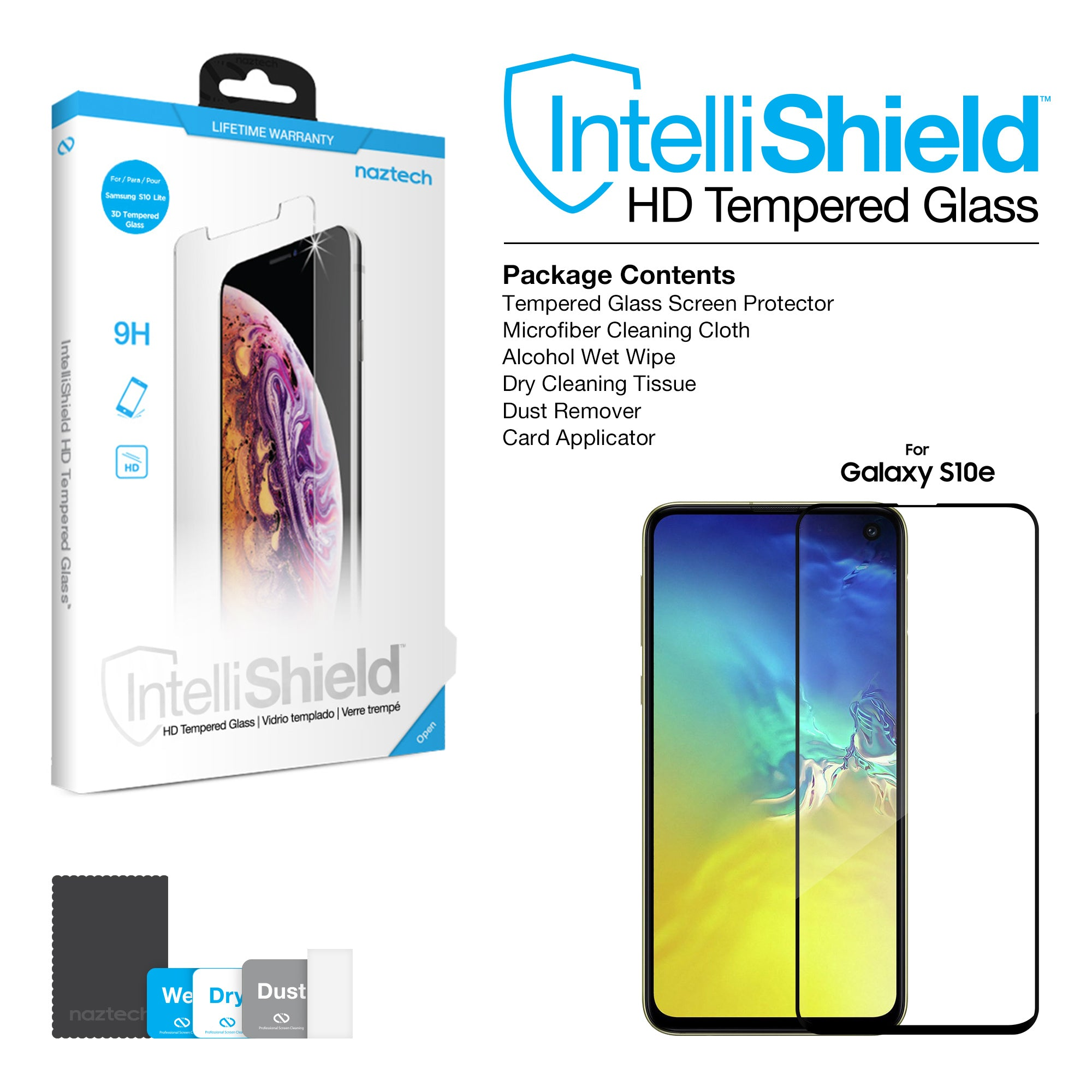 IntelliShield HD Tempered Glass for Galaxy S10e