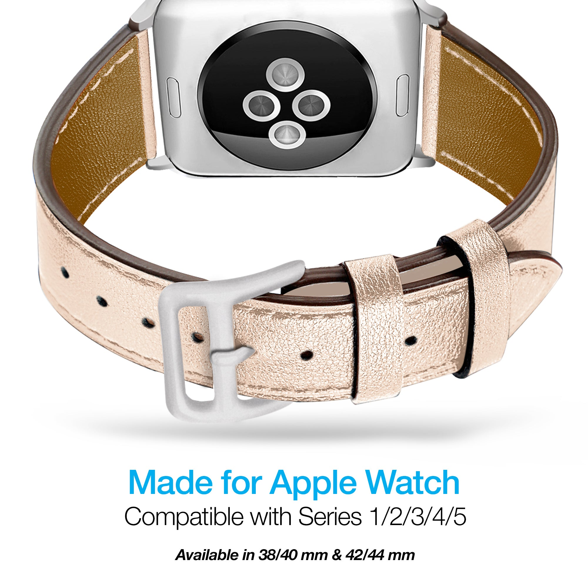 Leather Band for Apple Watch (38/40mm)
