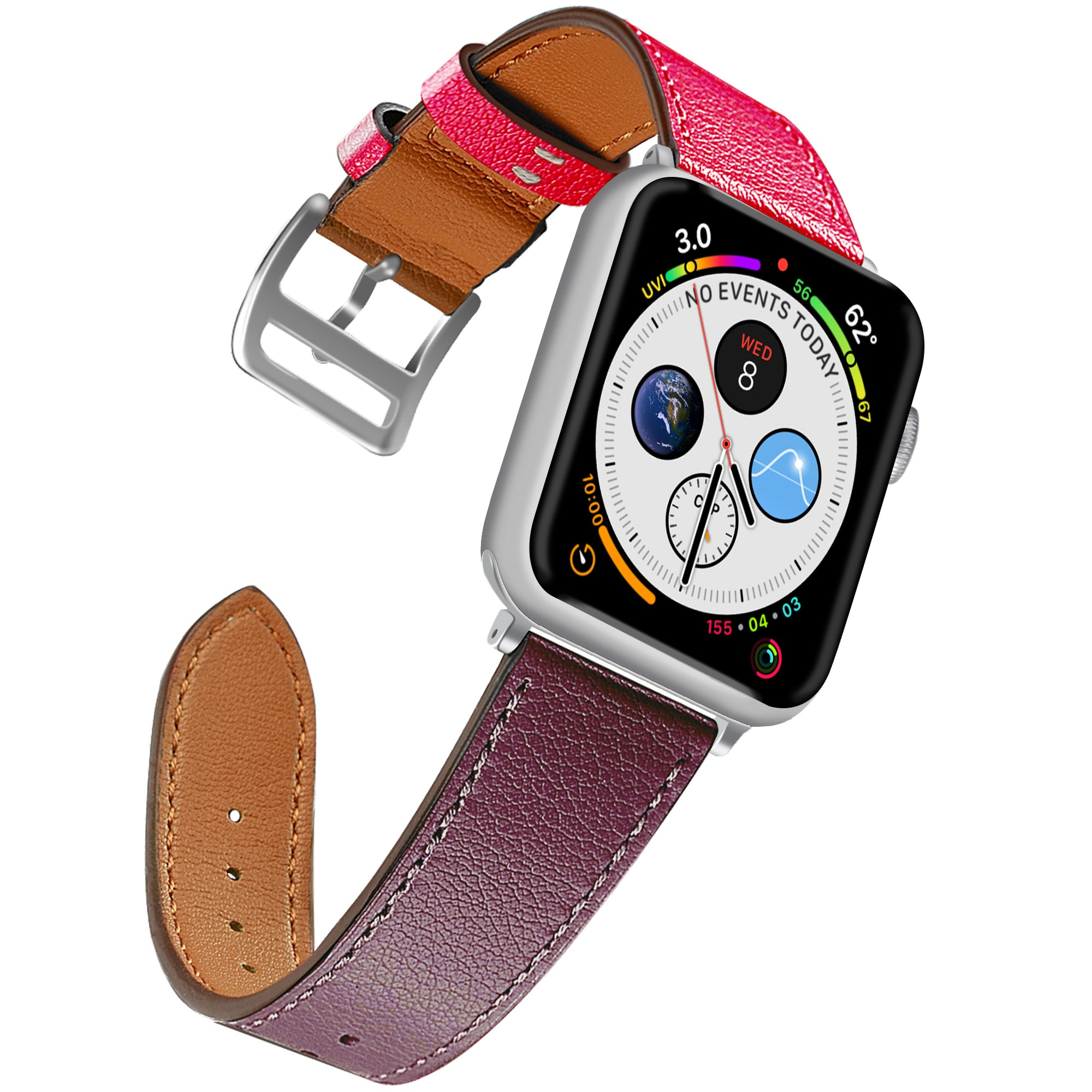 Leather Band for Apple Watch (42/44mm)
