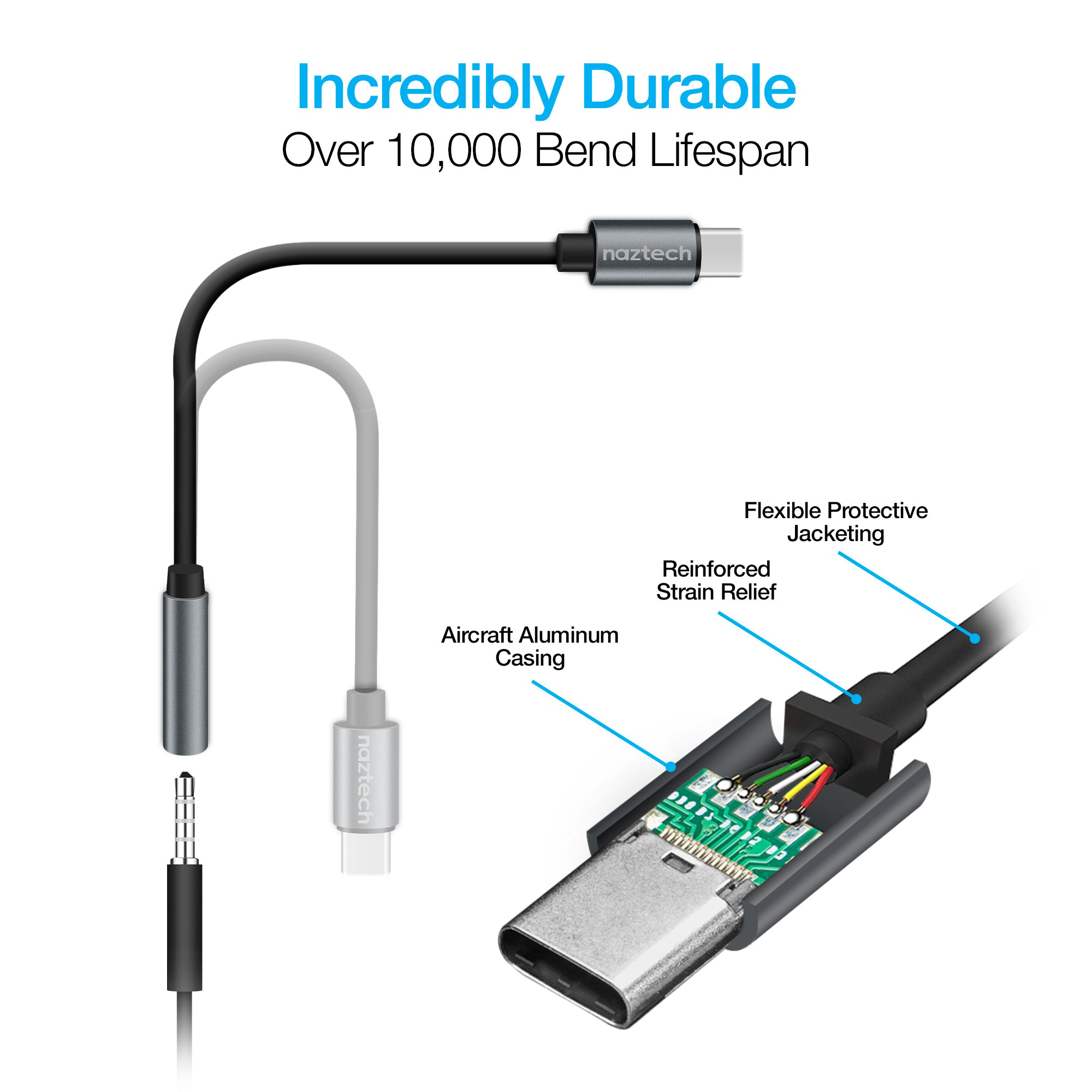 USB-C to 3.5mm Audio Adapter