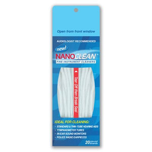 NanoClean Hearing Instrument Cleaners (20/pk)