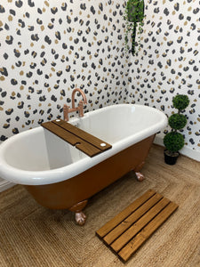 Dark Oak stain bathboard