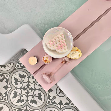 Blush pink bathboard
