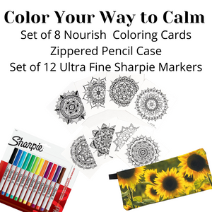 Color Your Way to Calm Bundle (provides 14 meals for kids)