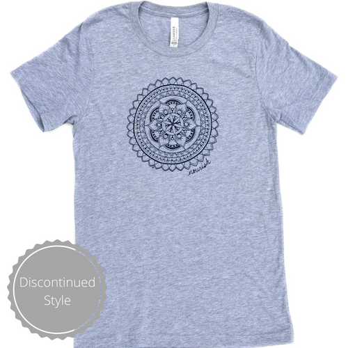 Unisex Grey Crew T-Shirt (provides 12 meals)