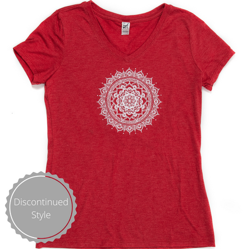 Women's V-neck Tee (provides 12 meals)