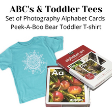 Load image into Gallery viewer, ABC & Toddler Tee Bundle (provides 20 meals for kids)