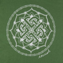 Load image into Gallery viewer, Unisex Celtic Knot Mandala Crew T-Shirt (provides 12 meals)