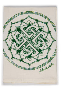 Celtic Knot  Kitchen Towel (provides 6 meals)