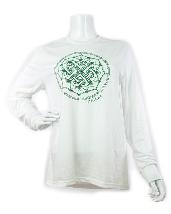 Unisex Celtic Knot Long-Sleeved Crew Tee (provides 14 meals)