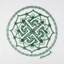 Load image into Gallery viewer, Unisex Celtic Knot Long-Sleeved Crew Tee (provides 14 meals)
