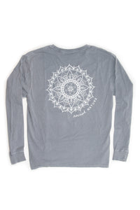 Nourish Nature Long-Sleeved Crew, Steel Gray (provides 14 meals)