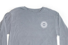 Load image into Gallery viewer, Unisex Nourish Nature Long-Sleeved Crew, Steel Grey (provides 14 meals)