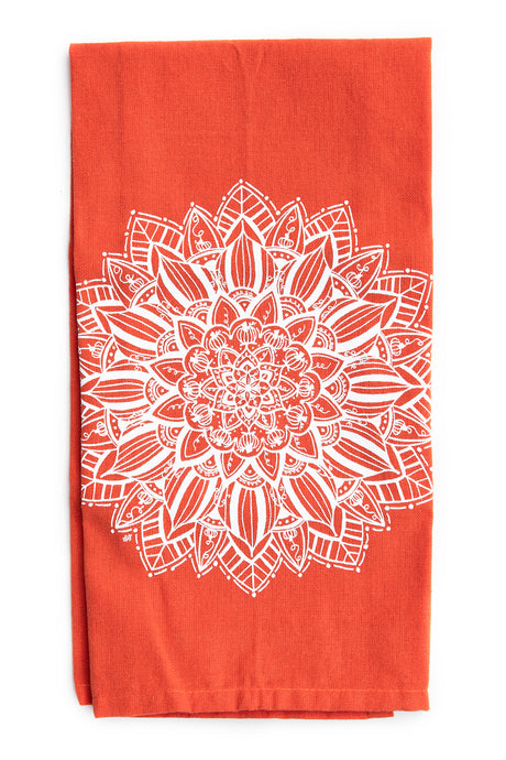 Pumpkin Mandala Kitchen Towel (provides 6 meals)