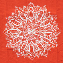 Load image into Gallery viewer, Pumpkin Mandala Kitchen Towel (provides 6 meals)