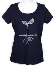 Load image into Gallery viewer, Women's Nourish Growth Scoop Neck T-Shirt (provides 12 meals)