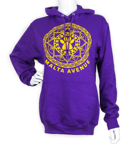 Malta Avenue Unisex Hooded Sweatshirt (provides 20 meals)