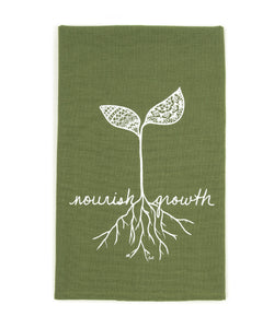 """Nourish Growth"" Kitchen Towel (provides 6 meals)"