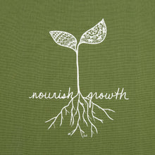 "Load image into Gallery viewer, ""Nourish Growth"" Kitchen Towel (provides 6 meals)"