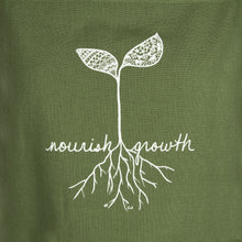 "Load image into Gallery viewer, ""Nourish Growth"" Apron (provides 14 meals)"