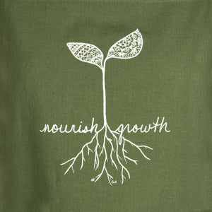 """Nourish Growth"" Apron (provides 14 meals)"