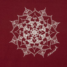 Load image into Gallery viewer, Cranberry Mandala Kitchen Towel (provides 6 meals)