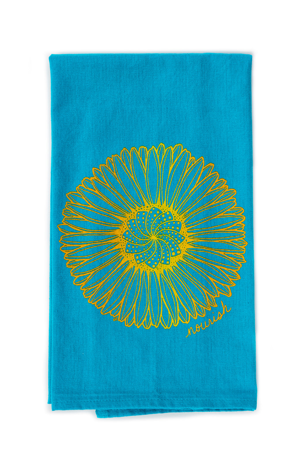 Daisy Mandala Kitchen Towel (provides 6 meals)