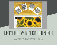 Load image into Gallery viewer, Letter Writer Bundle (provides 12 meals)