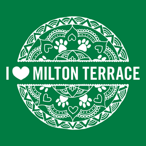 Milton Terrace Women's V-neck T-shirt (provides 16 meals)