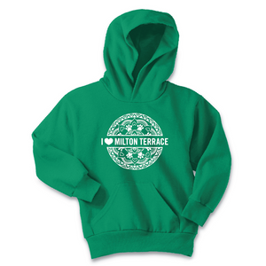 Milton Terrace Kids' Hooded Sweatshirt (provides 12 meals)