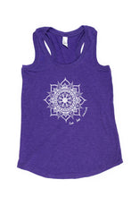 Load image into Gallery viewer, Women's Racerback Mandala Tank (provides 8 meals)
