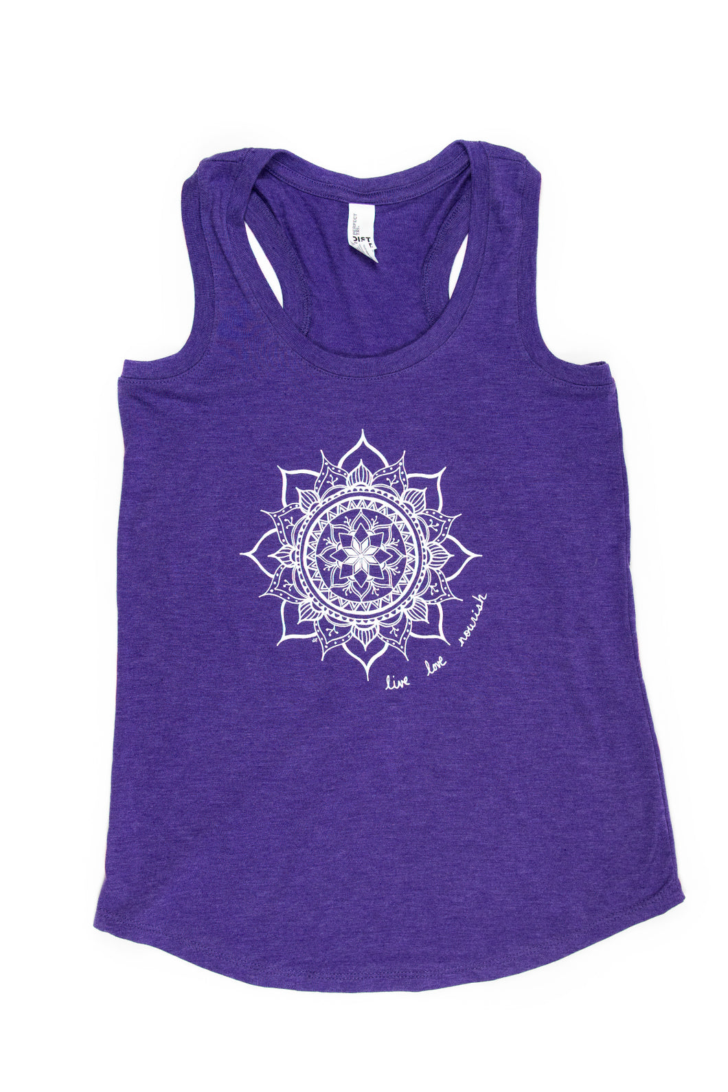 Women's Racerback Mandala Tank (provides 8 meals)