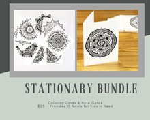 Load image into Gallery viewer, Stationary Bundle (provides 10 meals)