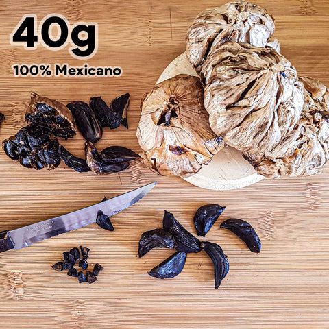 Ajo negro honey blossom