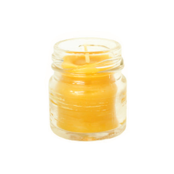 Vela de Cera de Abeja | Frasco Mini - HONEY BLOSSOM MEX
