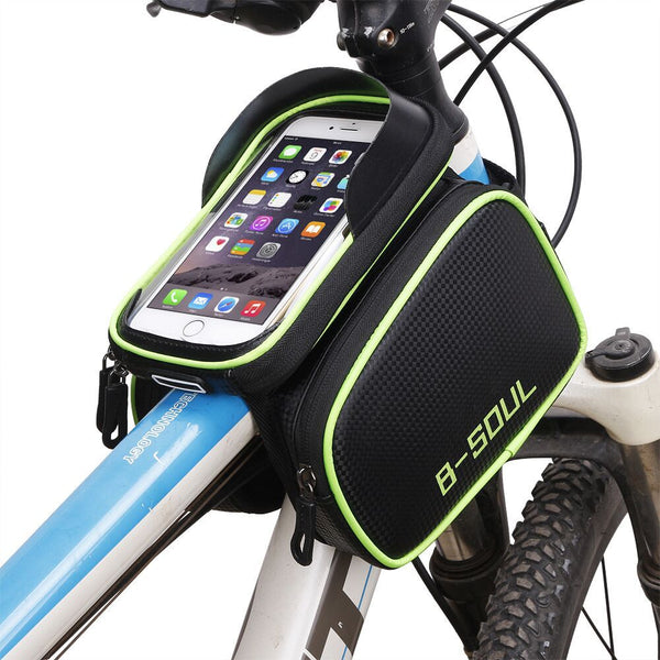 Bicycle/Bike Waterproof Top Tube Bag for Phones, Keys, Changes and Cards