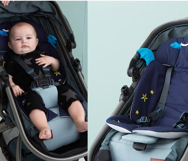 Baby Seat Cushion/Liner for Stroller, Body Support for Head & Neck Protection gift for baby