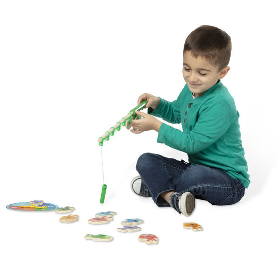 Melissa & Doug: łowienie rybek Catch & Count Fishing Game