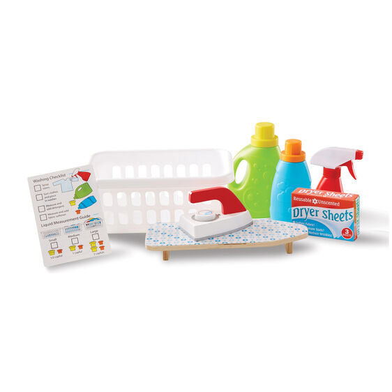 Melissa and Doug: kosz na pranie Laundry Basket Play Set