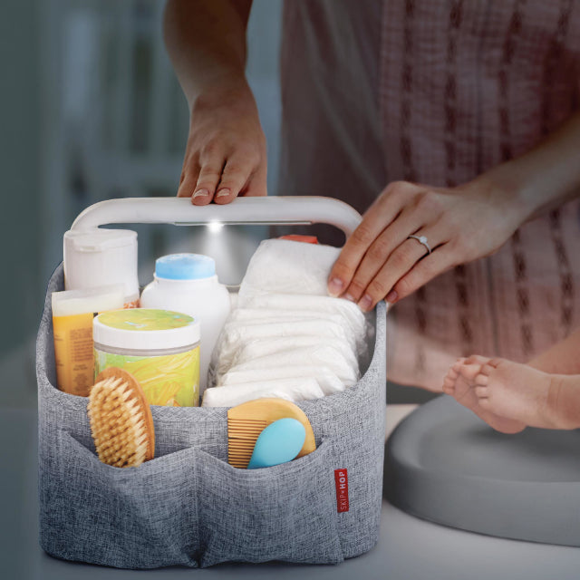 Skip Hop: organizer z lampką Light Up Diaper Caddy
