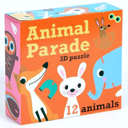 OMM Design: puzzle figurki 3D Animal Parade