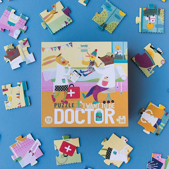 Londji: puzzle I want to be a Doctor 36 el.
