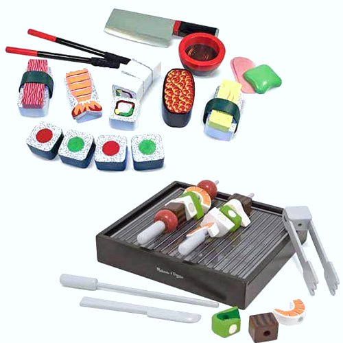 Melissa and Doug: drewniane sushi do krojenia