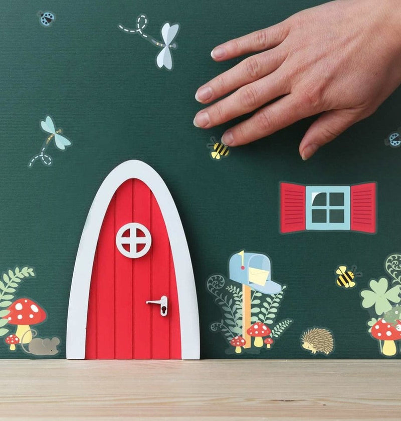 A Little Lovely Company: wróżkowe drzwi Fairy Door Red